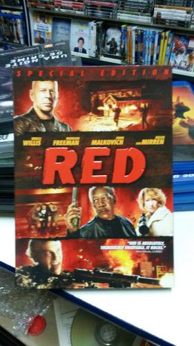 dvd importado do filme red -