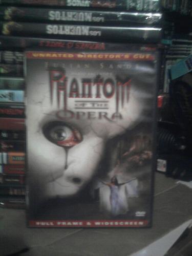 dvd importado el fantasma de la opera terror dario argento