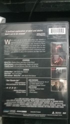 dvd importado - intimacy - patrice chéreau
