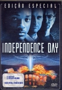 dvd independence day ed. especial (duplo) original novo