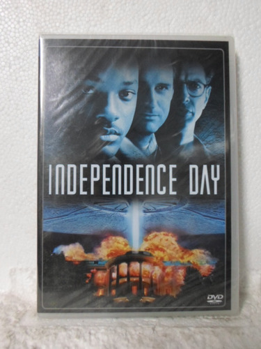 dvd independence day - lacrado - frete: 8,00