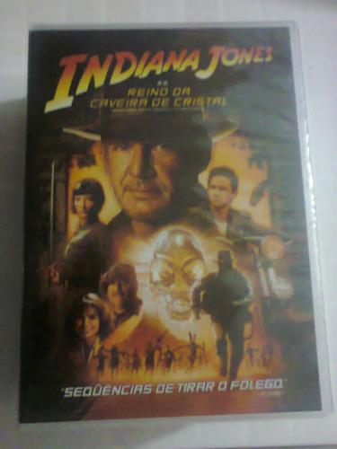 dvd indiana jones e o reino da caveira de cristal lacrado