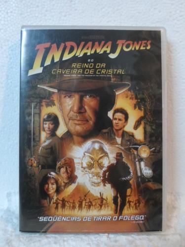 dvd indiana jones-reino da caveira de cristal - original