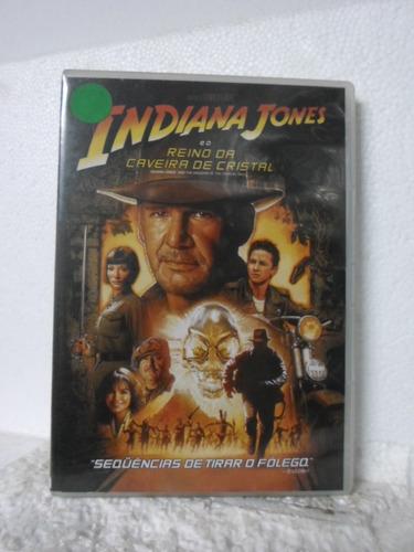 dvd indiana jones  reino da caveira de cristal - original