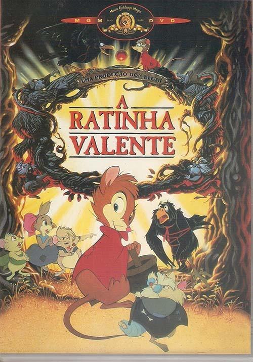 dvd infantil a ratinha valente desenho animado 82 minutos r 17