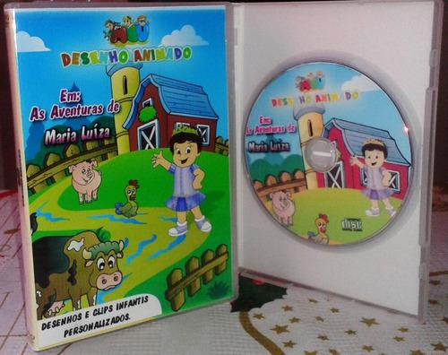 dvd infantil personalizado - meu desenho animado