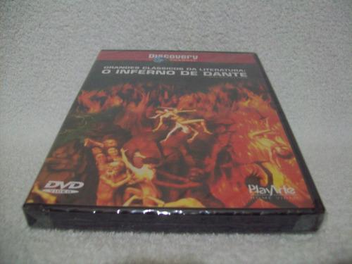dvd inferno de dante- grandes clássicos- lacrado de fábrica