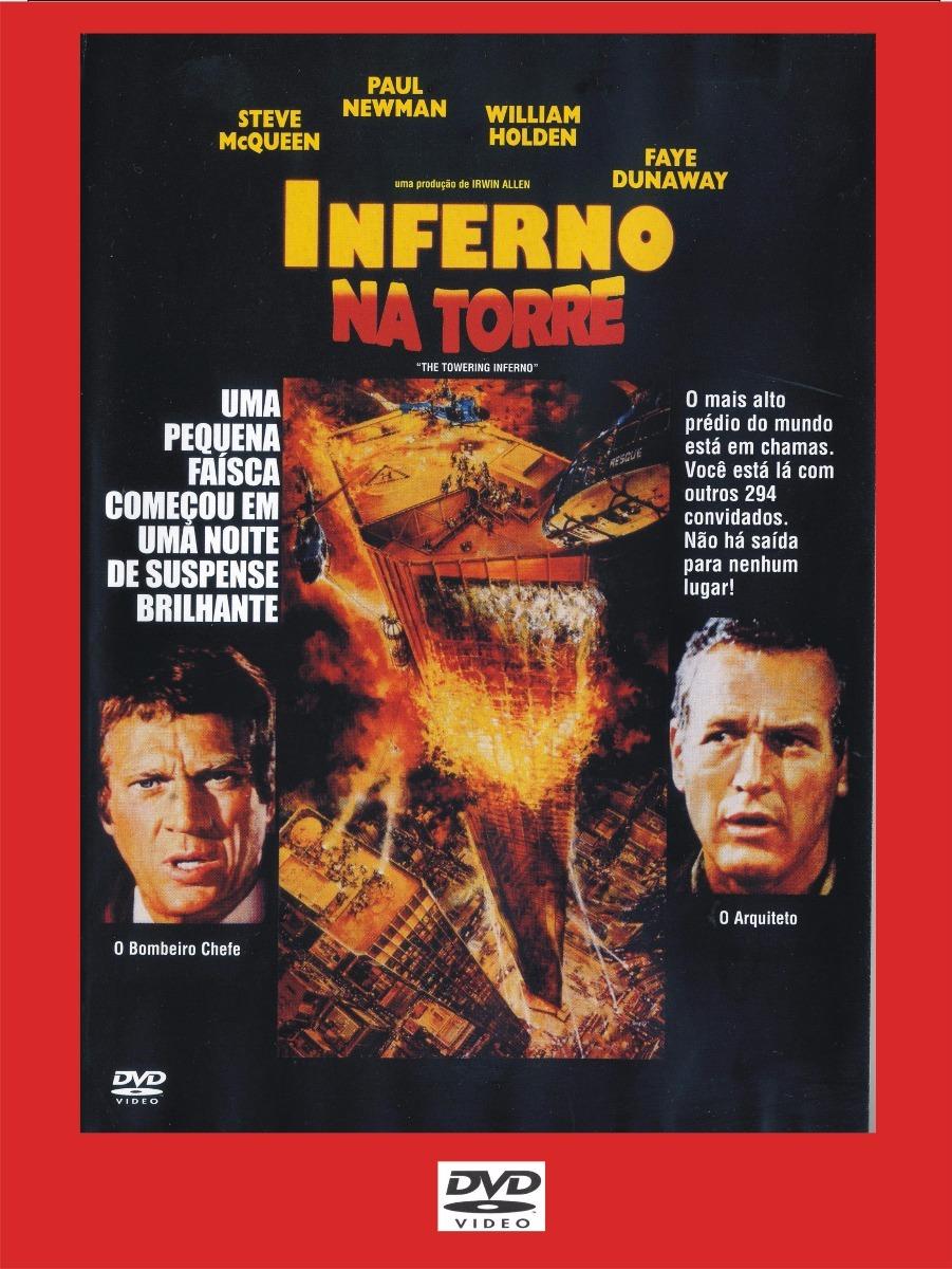 Inferno Em Chamas Minimalist dvd - inferno na torre - 1974 - r$ 25,00 em mercado livre
