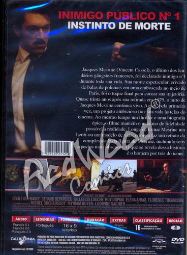 dvd - inimigo publico nº 1 - california  - redwood