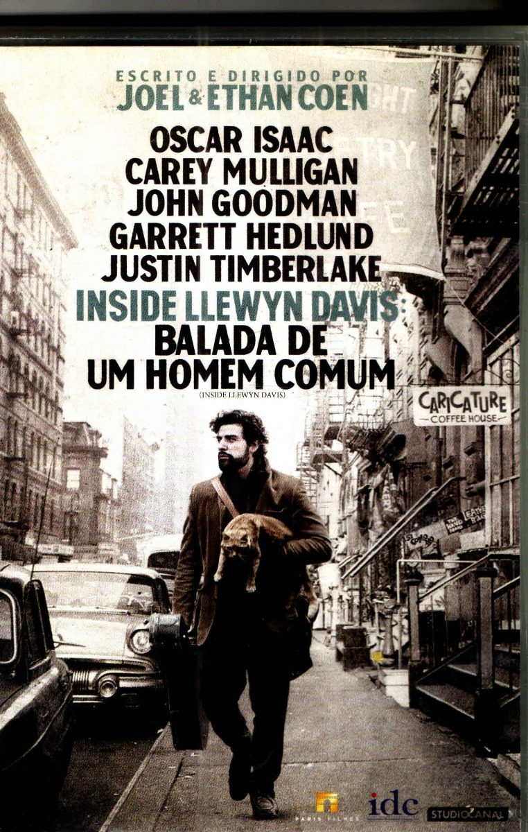 Dvd Inside Llewyn Davis Balada De Um Homem Comum Origina R