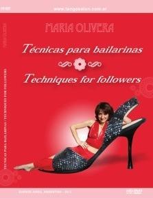 dvd instructivo  técnica para bailarinas  por maría olivera