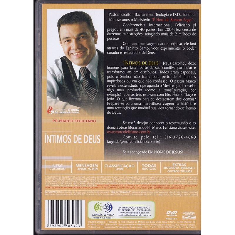 dvd marco feliciano intimos de deus