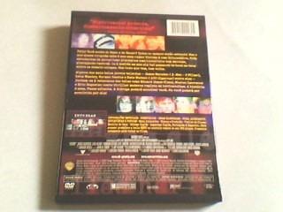 dvd intrigas  (1ª edição em dvd) capa snapcase