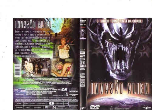 dvd invasão alien - ficção/terror - original
