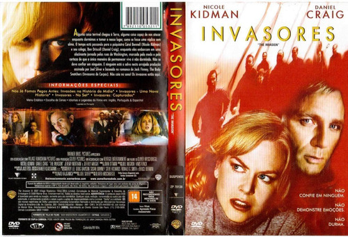 dvd - invasores