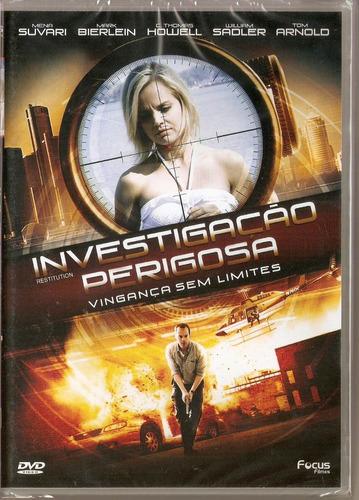 dvd investigação perigosa - vingança sem limites - novo***