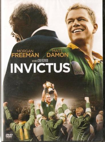 dvd invictus - morgan freeman / matt damon - novo***