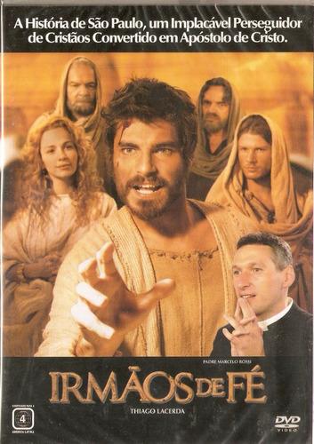 dvd irmãos de fé - thiago lacerda - novo***