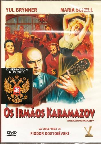 dvd irmãos karamazov yul brynner maria schell, lit russa +