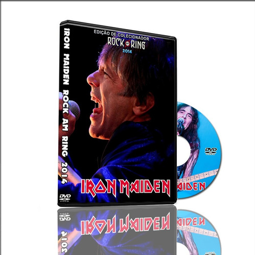dvd iron maiden live in rock am ring 2014