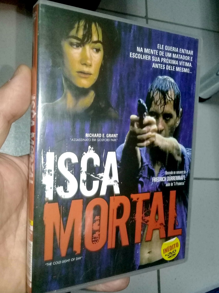 Dvd - Isca Mortal - Richard E  Grant - Original