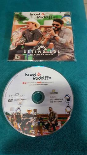 dvd israel e rodolffo - setimo sol