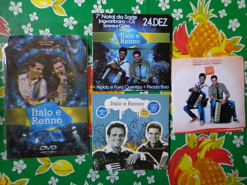 dvd italo e renno - promocional - frete gratis