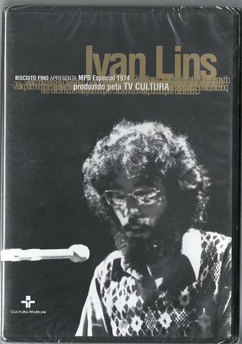 dvd ivan lins - mpb especial 1974 tv cultura , lacrado
