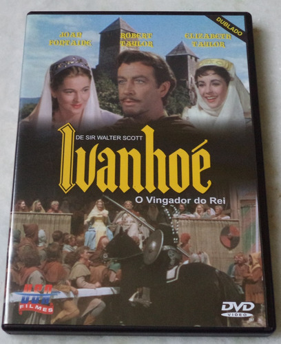 dvd  ivanhoé o vingador do rei