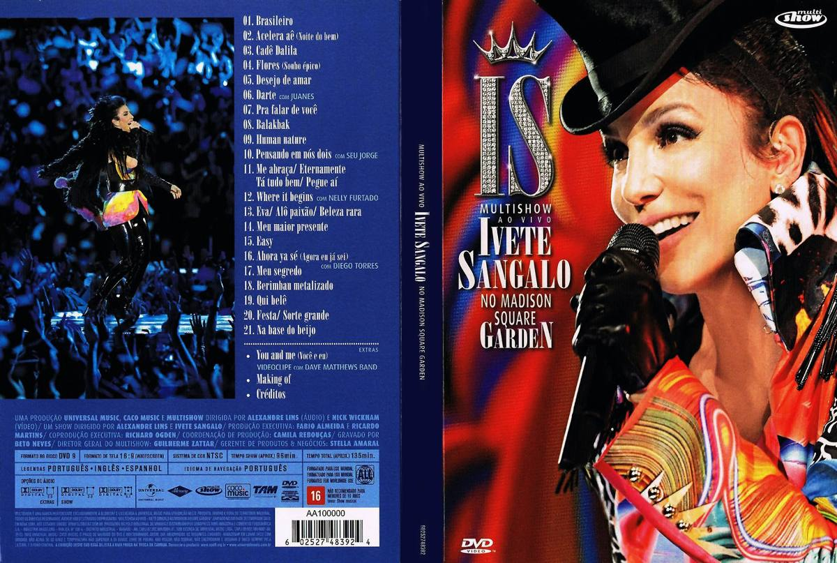 ivete sangalo ao vivo no madison square garden