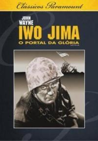 dvd iwo jima, o portal da glória,  john wayne, p/b 1949 +