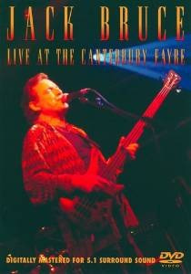 dvd  jack bruce: live at the canterbury fayre