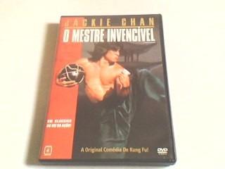 dvd jackie chan o mestre invencível  (com encarte interno)