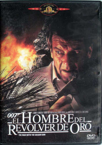 dvd- james bond- el hombre del revolver de oro - imp.chile