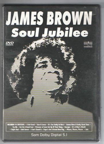 dvd james brown - soul jubilee