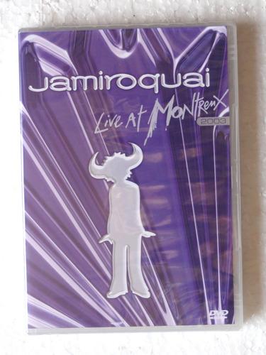 dvd jamiroquai live at montreux 2003 original lacrado!!