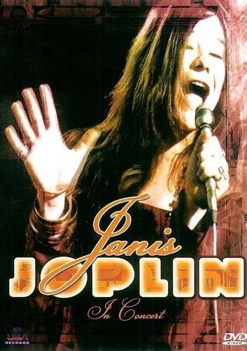 dvd - janis joplin in concert