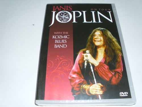 dvd janis joplin on tour wit the kosmic blues band