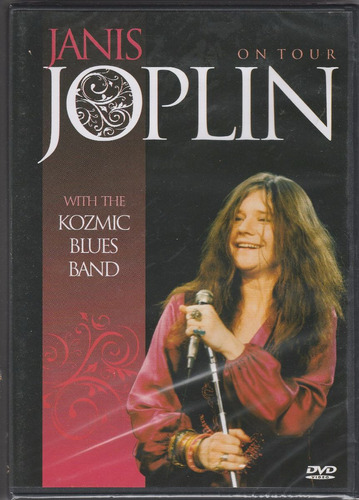 dvd janis joplin -on tour -with the kozmic blues band