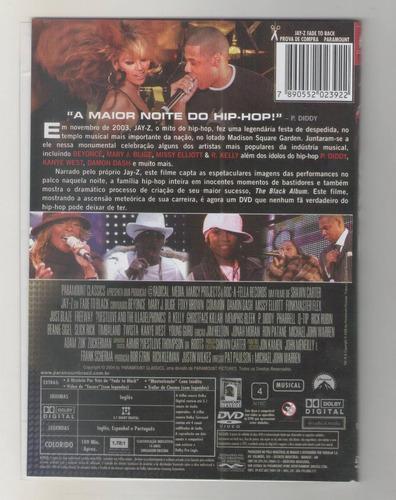 dvd jay-z em - fade to black - 2004