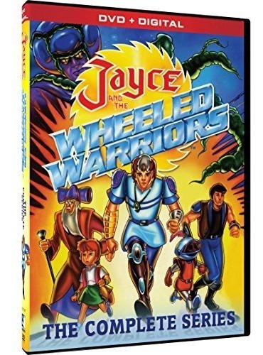 dvd : jayce and the wheeled warriors: the complete series...