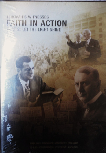 dvd jehovahs witnesses faith in action part 2 let the light