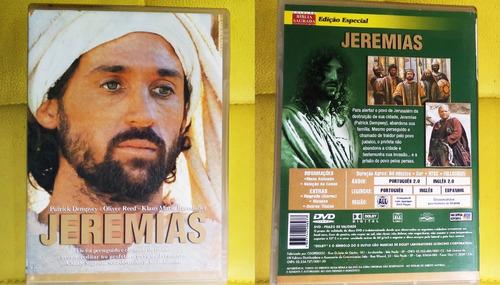 dvd jeremias filme bíblico