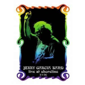dvd jerry garcia band  live at shoreline 9/1/90