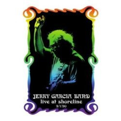 dvd jerry garcia band - live at shoreline 9/1/90 - novo e la