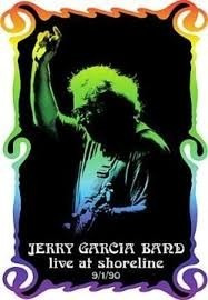 dvd jerry garcia bard - live at shoreline 9/1/90 - novo