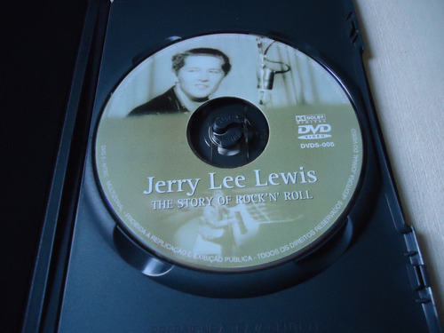 dvd -   jerry lee lewis- the history of rock'n'rol  -  rock
