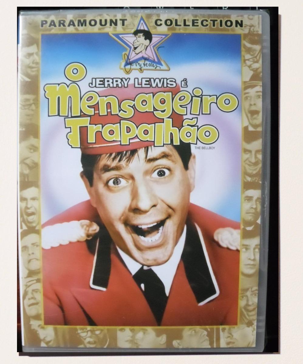 Dvd Jerry Lewis O Mensageiro Trapalhão ( Dublado) - R$ 6,90 em Mercado Livre