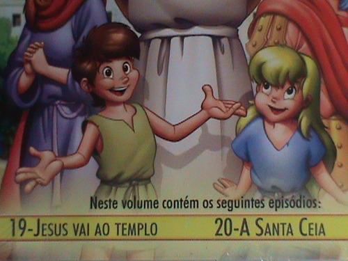 dvd - jesus - um reino sem fronteiras-vol.10(novo - lacrado)