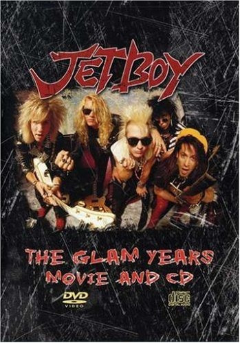 dvd : jetboy - glam years (with cd, 2 disc)